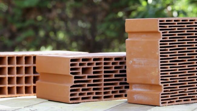 brique de mur en terre cuite maison terre cuite jeconstruisterrecuitecom - Les Materiaux Pour Construire Une Maison